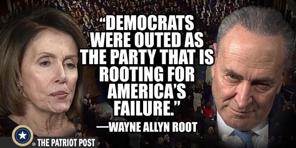 Democrats Hate Trump More Than They Love America By Arnold Ahlert